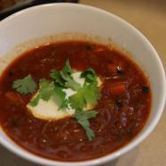 Tomato Soup with Vermicelli & Ras El Hanout